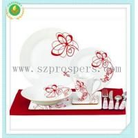 Cheap Round shape set 44pc set with placemat&cutlery for sale