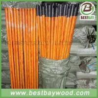 Cheap PVC Coated Wood Broom Sticks PVC Cover Wooden Mop Stick for sale