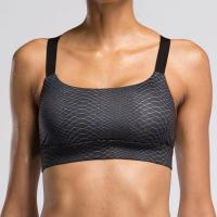 Cheap #BRA003 Lady High Quality Black Snake Print/V2 FITNESS Sport Yoga Bra Top for sale