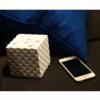 Magic cube bluetooth speaker, super bass bluetooth speaker