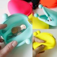 Cheap wallet&bag BPA Free Silicone coin purse for sale