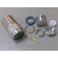 N Male Straight Connector For RG214