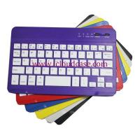 Cheap BT15 7inch Slim Bluetooth Keyboard Compatiable with Apple OS,Windows, Android,6Colors.Hot Selling for sale