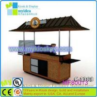 Cheap Used for African vending street mobile food cart for selling coffee for sale