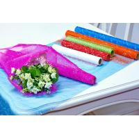 Cheap Flower Wrapping Materials organza by the roll Dot Foamed Organza Rolls for sale