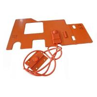 Cheap Custom Silicone Rubber Hot Pad 12V Manufacturer for sale