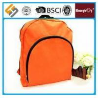 Cheap Newest style orange waterproof promotional backpack for sale