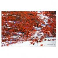 Painted abstract painting modern creative