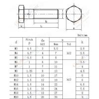 Cheap Bolt, hexagonal head, for tensile application, ISO thread-4g class NF L22-145-1985 for sale