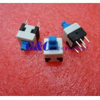 Cheap 20PCS 8X8mm Blue Cap Self-locking Type Square Button Switch NEW GOOD QUALITY SW1 for sale