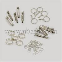 1Set Assorted Iron Findings including 5pcs Iron Flat Alligat...(IFIN-X0004)