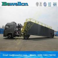 77m3frac tank with wheel for use in the oil industry