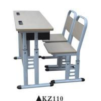Cheap Double used preschool furniture school chair desk for sale KZ110 for sale