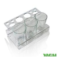 Cheap Acrylic desk organizer brush pot Model:YY3802 for sale