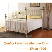European French Style Classic and Modern King Bed Frame in Brass