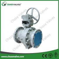 Cheap 8-inch-2-piece-cast-steel-trunnion-ball-valve for sale