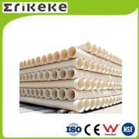 Cheap PVC pipe and fittings Wholesale corrugated drain pipe double wall pvc pipe for sale