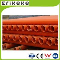 Cheap PVC pipe and fittings Low price colored electrical pvc pipe sizes for sale
