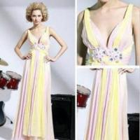 Cheap The new elegant long evening dress gown section variegated for sale
