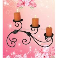 Wrought Iron&Metal Candle Holder