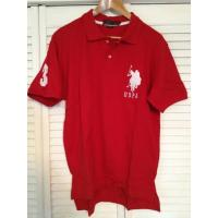 Cheap US Polo Assn. Large Pony Polo Shirt - Red for sale