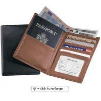 Cheap Passport Wallet Leather Cover ID Holder Cases for sale