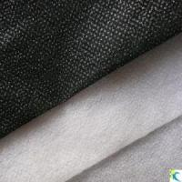 Cheap 25GSM Polyester Non-Woven Fusible Interlining (Double-DOT) for Garment for sale