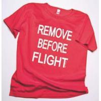Cheap Remove Before Flight Ladies Scoop Neck T-Shirt for sale