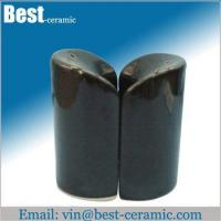 Cheap Ceramic salt&pepper shaker ceramic salt and pepper pots for sale