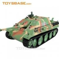 RC Toy Tank - Airsoft German Jagdpanther 1:16 Radio Control Battle Tank with BB Bullets