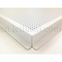 Cheap 595*595mm Perforated Aluminum Ceiling Tile for sale