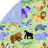 Wild Animals Full/ Queen Comforter