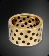 Cheap Solid Lubricate Inlaid & Bronze Bushing for sale
