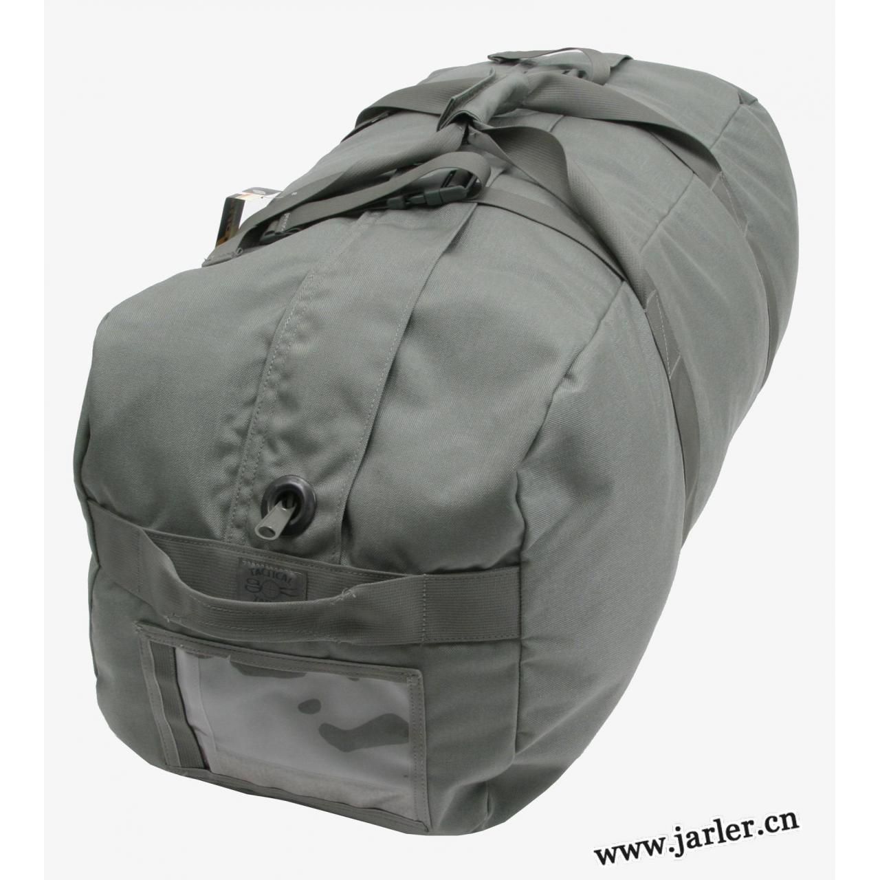 Military canvas duffle bag