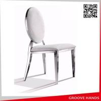 Cheap Round Design Luxury Stainless Chair for sale