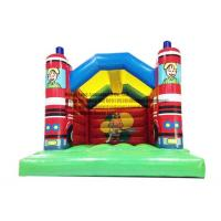Cheap HL-SB0029 Fire Truck Inflatable Bouncer for sale