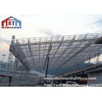 Heavy Duty Aluminum Roof Truss SystemNon Toxic Durable PVC Roof Cover Fabric