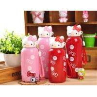Winter new style Hello Kitty stainless steel vacuum cup lovely cartoon KT lady child bottle