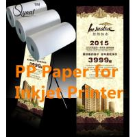 Cheap Solvent&Eco-Sovlent Adhesive PP paper for sale