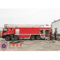 Speed Ratio 1.5 Water Tower Fire Truck With ABS Function Braking System