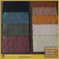 Cheap Colorful Fabric Leather Fabric Synthetic Leather for Shoe or Sofa for sale