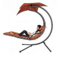Cheap Hanging Chaise Lounger Chair Arc Stand Air Porch Swing Hammock for sale