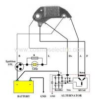 Alternator Regulators CS-DE701