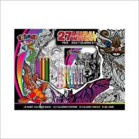 Cheap Animal Instinct 27pc. Adult Coloring Kit for sale