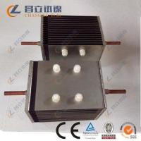 ru-ir coated titanium anode assembly for seawater electrolysis