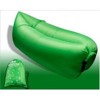 Cheap Outdoor Fast Inflatable Laybag Air Sleeping Lazy Bag Hangout Lounger Sofa for sale