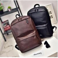 Men's Women's Leather Backpack Laptop Vintage Satchel Travel School Rucksack Bag