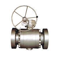 Cheap Ball valve Flange connection fixed ball valve for sale