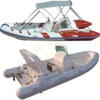 Cheap PVC Hypalon Inflatable Rib Rubber Boat for sale
