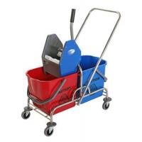 Cheap DOUBLE MOP WRINGER TROLLEY BUCKET for sale